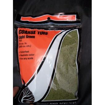 Foliage - Coarse Turf  Dark Green  model scenery T65
