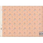 Shasta 117D2 peach miniature dollhouse wallpaper 1pc 1/12 scale MiniGraphics