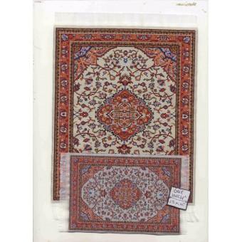 Rug Set #10SL dollhouse woven carpet  furnishing fabric 1/12 scale Turkey