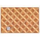 Faux Parquet Wood 34604 floor sheet dollhouse 1pc World & Model card stock