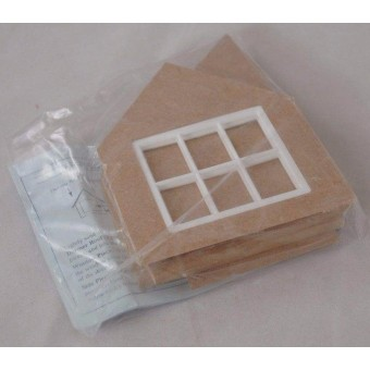 Dormer Kit:- Gable  Roof for Jackson's Miniatures Dollhouses 1/12 scale C16