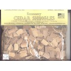 Shingles - Fishscale #52 Split Wood 1000pcs 1/12 scale dollhouse made in USA