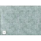 Marble Tile - green  paper flooring Jackson's Miniatures dollhouse 1pc JM18