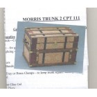 Lithograph Wooden Trunk Kit - dollhouse miniature 1/12 scale CPT111 - USA