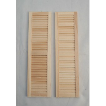 Shutters #5018 dollhouse 1:12 scale miniature window 1pair wooden Houseworks