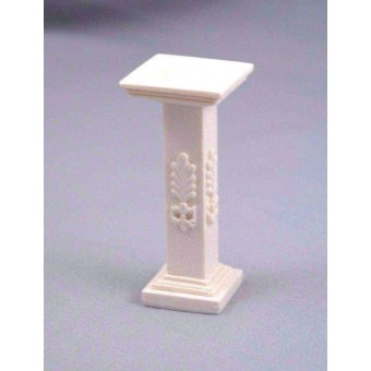 Pedestal -  Stand - UMPD1 polyresin dollhouse miniature 1/12 scale