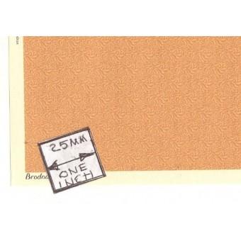 Brodnax Prints - Michaelmas HAC105 wallpaper Half 1/24 Scale 1pc dollhouse.