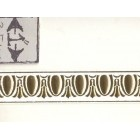 Faux Plaster Gilded Ceiling / Wall Molding 34912 World & Model Faux 1/12 scale