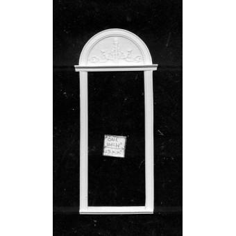 Door Frame  UMDF2 - dollhouse miniatures 1/12 scale - polyresin