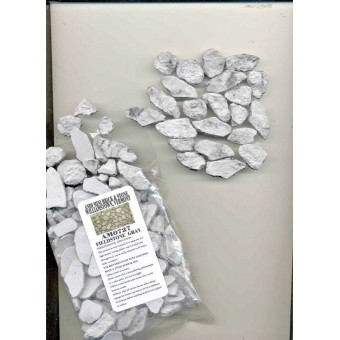 Field Stone Veneer Gray AM0727 model building 1/12 scale light weight plaster