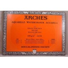 "Watercolor Paper 14"" x 20"" - Arches - 20 sheets 100% Cotton - product of France"