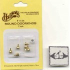 Brass Crystal Door Knob 1/12 scale dollhouse miniature hardware 1144  Houseworks