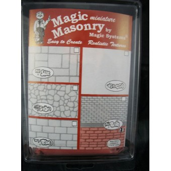 """Magic Masonry"" Red Brick Kit dollhouse miniature SW502R 1/12 scale  4.5 sqft"