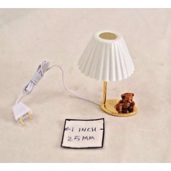 Light - Teddy Bear Table Lamp CK4645 dollhouse miniature 1/12 scale