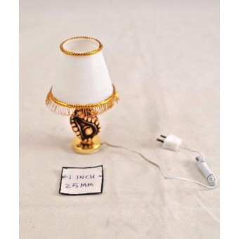 Light - Table Lamp,Speciord T8522 dollhouse miniature 1/12 scale