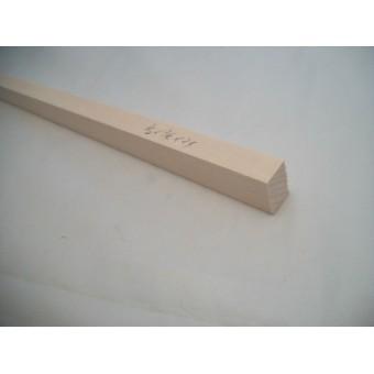 "1/2  x 3/4  x 23"" Model Lumber basswood architect timber 1pc craft MW"