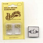 "Brad nails 1/4"" brass dollhouse miniature hardware #1128"