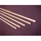 "1/16  x 1/4 x  24"" Model Lumber Strip Wood Dollhouse Supplies 5pcs Basswood 4026"