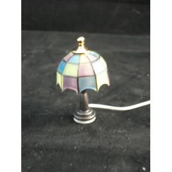 Light - Tiffany Table Lamp 2006 dollhouse miniature Houseworks 1/12 scale