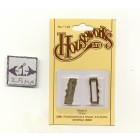 Letter Slot - Mail  Box  dollhouse miniature  hardware   #1148 brass  1/12 scale