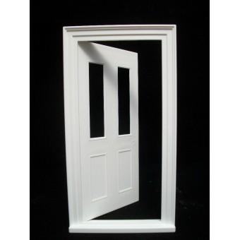 Door: Victorian Small Front Door  Jacksons Miniatures plastic 1/12 scale B19