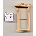Half Scale Window - Victorian- 1:24 Dollhouse wooden H5042 Houseworks G Scale