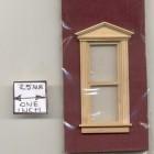 Half Scale Window - Federal Pediment- 1:24 Dollhouse wooden H5055 Houseworks