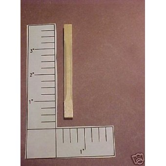 Porch Spindles #1 baluster 1/12 scale dollhouse miniature trim supplies 12pc