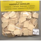 Shingles - Hexagon #63A Split Wood 625pcs 1/12 scale dollhouse made in USA