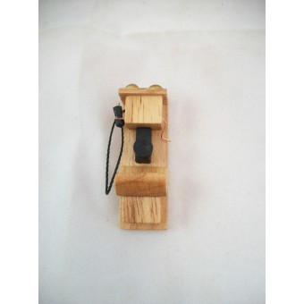 "1920s Wall Phone miniature Telephone  wooden 1"" scale T4046 dollhouse"