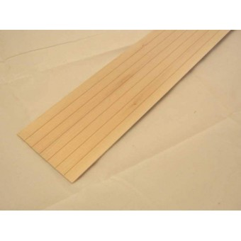 "Lap Siding 1/2"" basswood 7040   1pc  12"" long dollhouse miniature Houseworks"