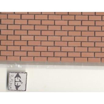 "Ceramic Brick Sheet MH5400 dollhouse 1/12 scale 6""x12"" Miniature House"