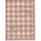 Faux Marble Tile Floor Sheet  34736 dollhouse 1pc World & Model card stock