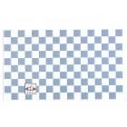 Wall Tile Sheet Blue & White 34362 dollhouse 1pc World & Model heavy card stock
