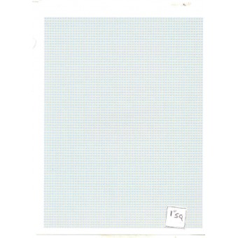 Blue small Square Tile Floor Sheet dollhouse  #MH5924 1/12 scale