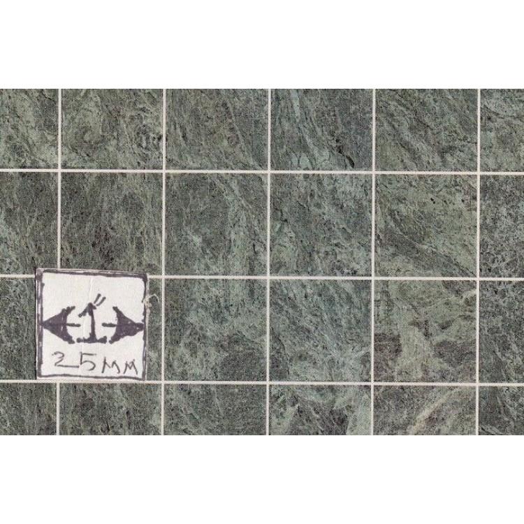 Floor Tile Sheet Green Marble MH5957 dollhouse 8.5x11 card stock 1//12 scale