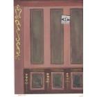 History Etc.-185D2 MiniGraphics wallpaper dollhouse miniature 1/12 scale 1 sheet