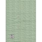Fabric Brodnax Prints  FAC02 Craftsman dollhouse Silk fabric1/12 scale 1pc