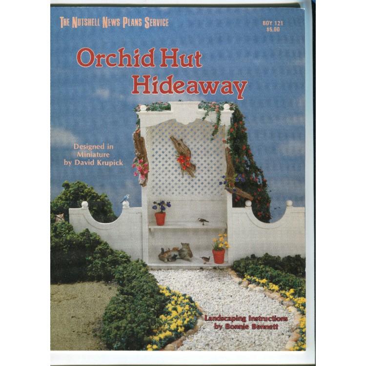 Orchid Hut Hideaway Patterns Plans Book Boy121 1 12 Scale