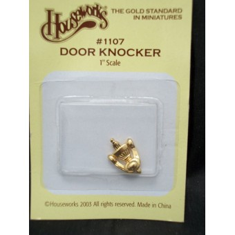 Dook Knocker working metal  1/12 scale Dollhouse miniature 1107 Houseworks 1pc