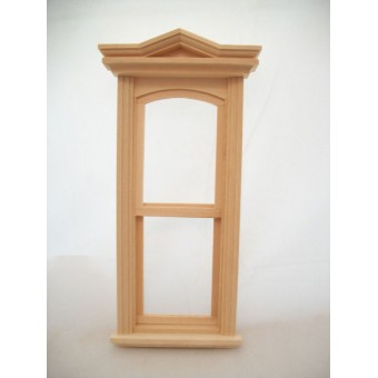 Victorian tall & slim Window  dollhouse wooden  #5030 1pc 1/12 scale Houseworks
