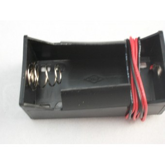 D Size Battery Holder 1.5 volt  - 1 Cell  dollhouse electrical CK0211-4  1pc