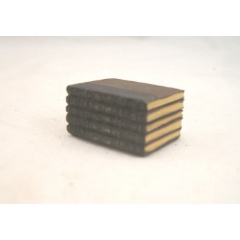 """Stack of Books - Resin -  4064  dollhouse miniature 1/12"""" scale Houseworks"""