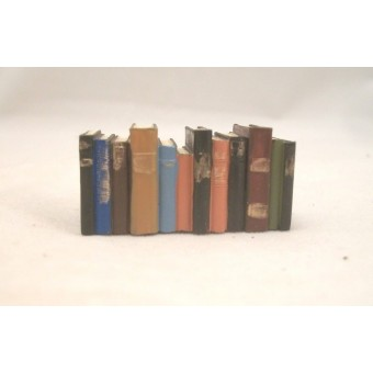 """Stack of Books - Resin -  4061  dollhouse miniature 1/12"""" scale Houseworks"""