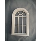 Half Scale 1:24  Victorian  Round Top Window Jackson's Miniatures Dollhouse #L13