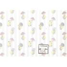 It's Raining Ducks white 152D2 MiniGraphics miniature  wallpaper 1pc 1/12 scale