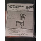 Kit - Chippendale Side Chair wooden furniture Houseworks  #13007 1/12 scale