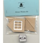 Half Scale 1:24 Gable Dormer  Window Kit  Jackson's Miniatures Dollhouse M13